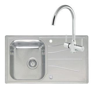 Reginox Comfort Diplomat 10 Eco Kitchen Sink with Thames Tap