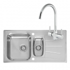 Reginox Comfort Diplomat 15 Eco Kitchen Sink with Thames Tap