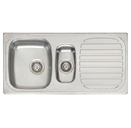 Reginox Comfort King R1.5 Stainless Steel Inset Kitchen Sink