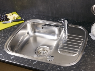 Reginox Comfort Regidrain Stainless Steel Inset Kitchen Sink