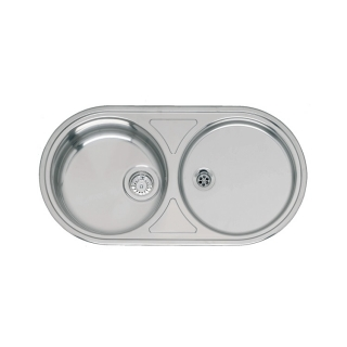 Reginox Comfort Valencia Stainless Steel Inset Kitchen Sink