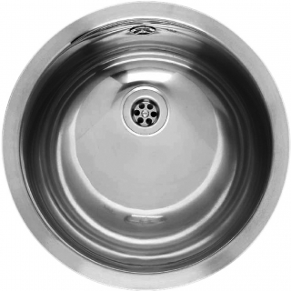 Reginox Commercial Amazone Stainless Steel Integrated Sink With Overflow