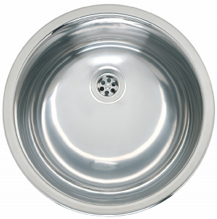 Reginox Commercial Amazone Stainless Steel Integrated Sink Without Overflow