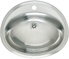 Reginox Commercial Moscow Stainless Steel Inset Sink Without Overflow