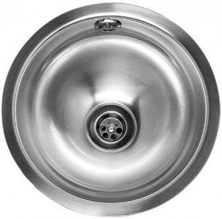 Reginox Commercial Rio Stainless Steel Integrated Sink With Overflow