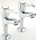 Reginox Commercial Vantage Single Lever Pillar Taps
