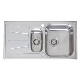 Reginox Elegance Diplomat 1.5 Stainless Steel Inset Kitchen Sink