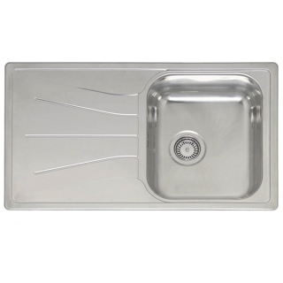 Reginox Elegance Diplomat 10 Stainless Steel Inset Kitchen Sink