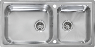 Reginox Elegance Minister 15 Reversible Stainless Steel Kitchen Sink