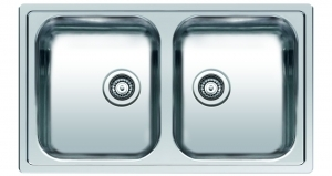 Reginox Elite Centurio L20 Stainless Steel Integrated Kitchen Sink