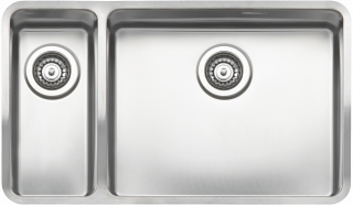 Reginox Elite Ohio 18x40-50x40 L Stainless Steel Integrated Kitchen Sink