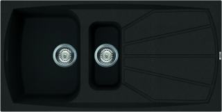 Reginox Elleci Living 475 Black Kitchen Sink
