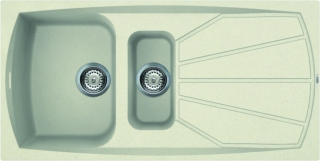 Reginox Elleci Living 475 Cream Kitchen Sink