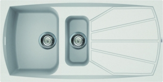 Reginox Elleci Living 475 White Kitchen Sink