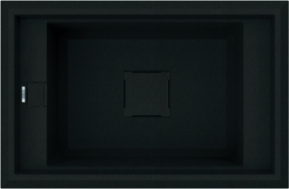 Reginox Elleci Vector 130 Granite Kitchen Sink Black
