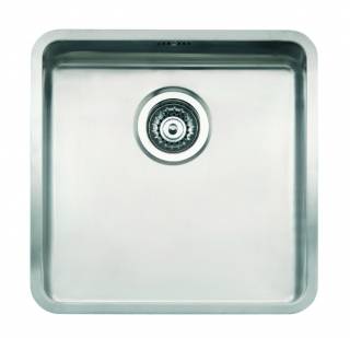 Reginox Kansas 40x40 Integrated Stainless Steel Kitchen Sink