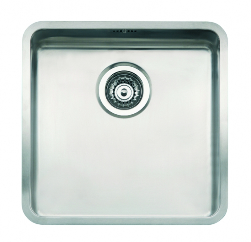 Integrated Kitchen Sink : ... Kansas 40x40 Integrated Stainless Steel Kitchen Sink Kitchen Sink