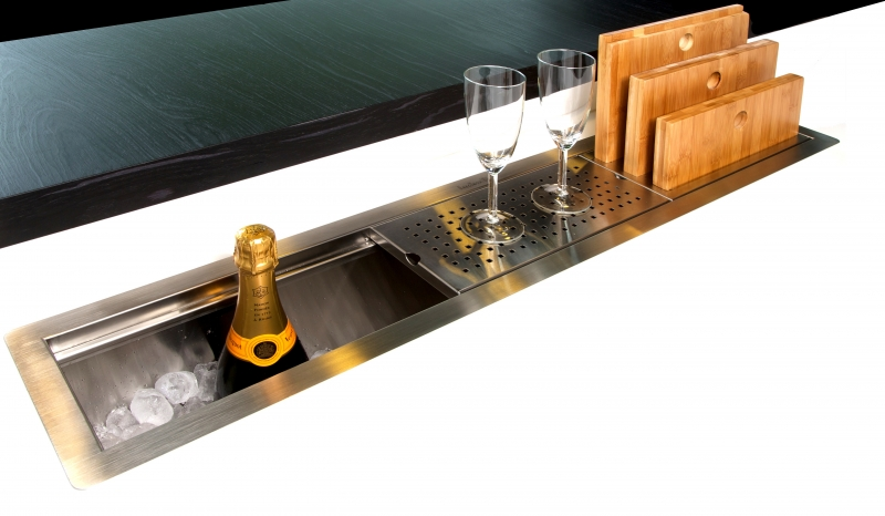 Inset Kitchen Sink. Latest Subway Mm X Mm Bowl Reversible Drainer ...