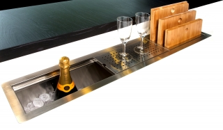 Reginox Manhattan 130cm Inset Kitchen Sink R1605