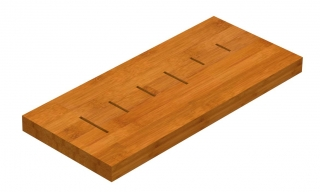 Reginox Manhattan Sink - Bamboo Block R1633