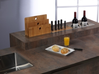 Reginox Manhattan Sink - Oil & Wine Holder R1621