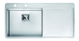 Reginox Nevada 50 Left Integrated Stainless Steel Kitchen Sink