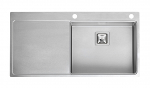 Reginox Nevada 50 Right Integrated Stainless Steel Kitchen Sink