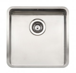 Reginox Ohio 40x40 Integrated Stainless Steel Kitchen Sink