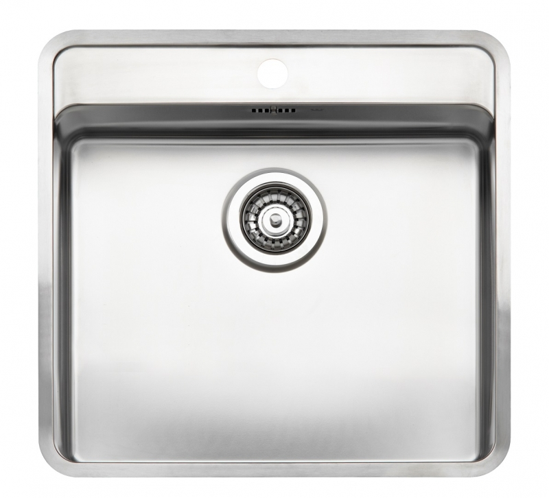 Integrated Kitchen Sink : ... Ohio 50x40 Tapwing Integrated Stainless Steel Kitchen Sink Sinks