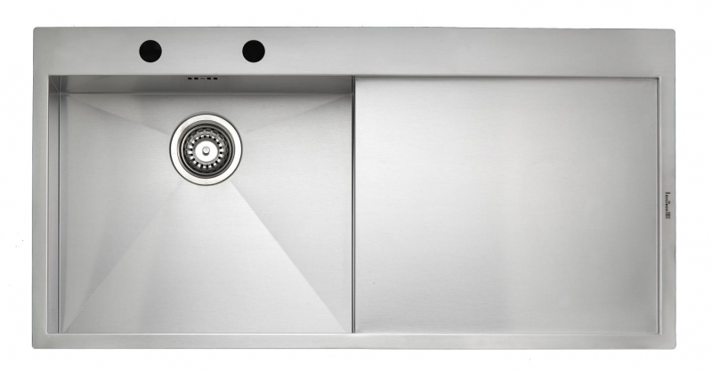 Integrated Kitchen Sink : ... Ontario 10 Integrated Stainless Steel Kitchen Sink Kitchen Sink