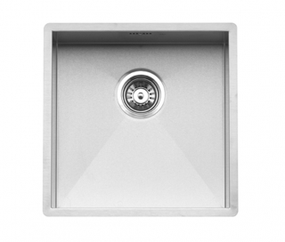 Reginox Ontario 40x40 Integrated Stainless Steel Kitchen Sink