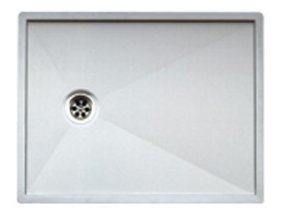 Reginox Ontario 50x40x2 Integrated Stainless Steel Kitchen Sink