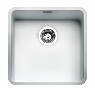 Reginox Regi Color Ohio 40x40 Kitchen Sink Arctic White