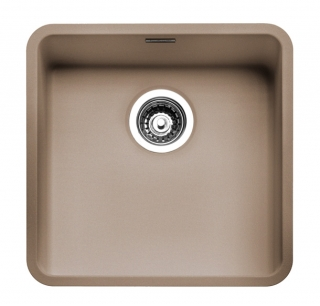 Reginox Regi Color Ohio 40x40 Kitchen Sink Sahara Sand
