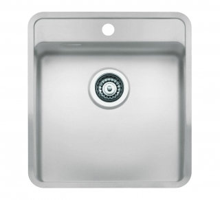 Reginox Regi Color Ohio 40x40 Tapwing Kitchen Sink Arctic White