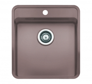 Reginox Regi Color Ohio 40x40 Tapwing Kitchen Sink Sahara Sand