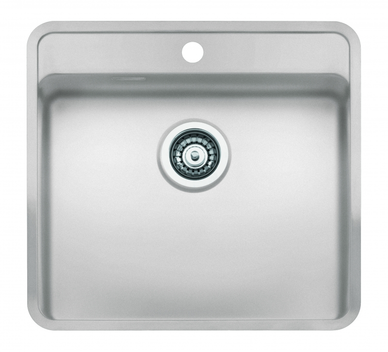 Reginox regi color ohio 50x40 tapwing coloured stainless for Coloured sinks kitchens