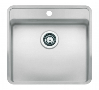 Reginox regi color ohio 50x40 tapwing coloured stainless for Colored stainless steel sinks