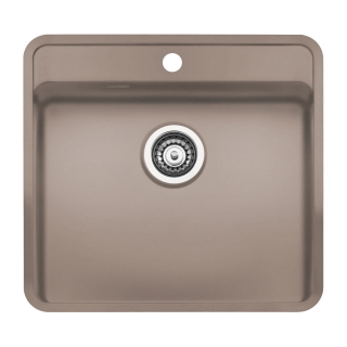 Reginox Regi Color Ohio 50x40 Tapwing Kitchen Sink Sahara Sand
