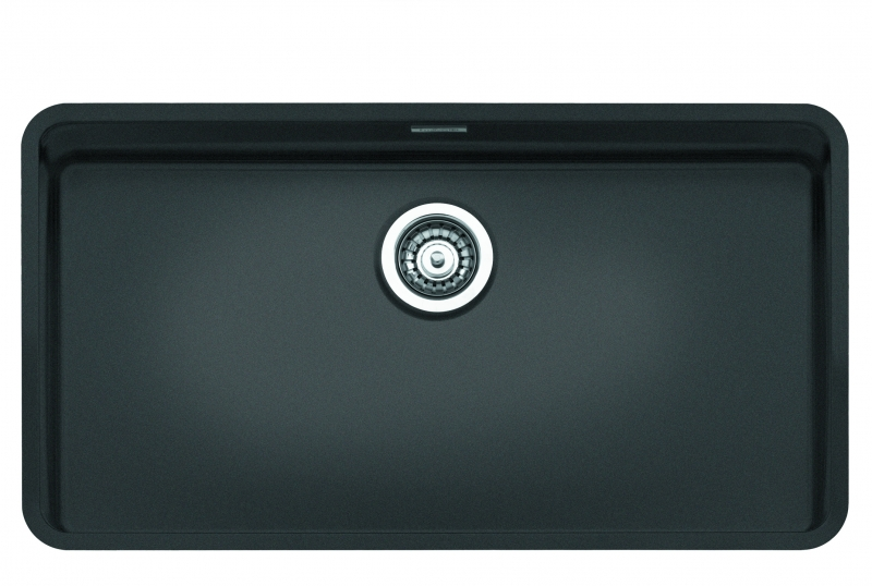 Reginox regi color ohio 80x42 coloured stainless steel for Colored stainless steel sinks