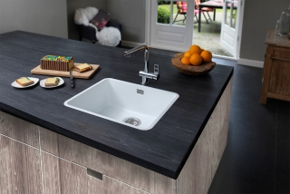 Reginox Regi Colour Ohio 50x40 Stainless Steel Integrated/Underbuild Kitchen Sink