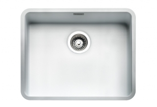 Reginox Regi Color Ohio 50x40 Kitchen Sink Arctic White
