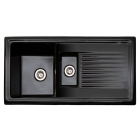 Image for Reginox RL401CB 1.5 Bowl Ceramic Kitchen Sink Black