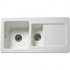 Image for Reginox RL501CW 1.5 Bowl Ceramic Kitchen Sink White