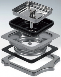 Reginox Square Waste Adapter for Texas Sinks M2751