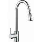 Image for Reginox Tanaro Kitchen Mixer Tap With Pull Out Rinse Spray - TANARO CH