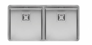 Reginox Texas 40x40+40x40 Integrated Stainless Steel Kitchen Sink