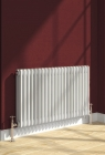 Image for Reina Colona Horizontal 600mm x 785mm 2 Column Radiator White - 2/C617