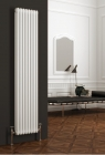 Image for Reina Colona Vertical 1800mm x 380mm 2 Column Radiator White - 2/C188