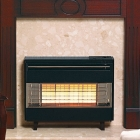 Image for Robinson Willey Firegem Visa Black / Brass 4.9kW Gas Fire - A85015